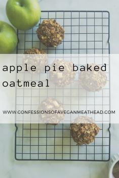 Apple Pie Baked Oatmeal-2